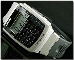 カシオ CASIO データバンク 腕時計 CA-56-1UW