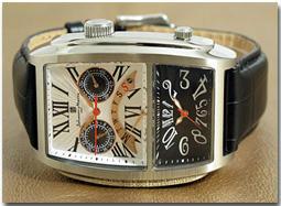 サルバトーレマーラ 腕時計 デュアルタイム SM11123-SSWH