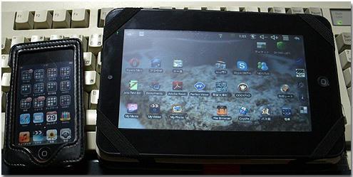 Android タブレット 中華パッド ipod