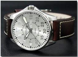 ハミルトン HAMILTON 腕時計 カーキ パイロット H64611555