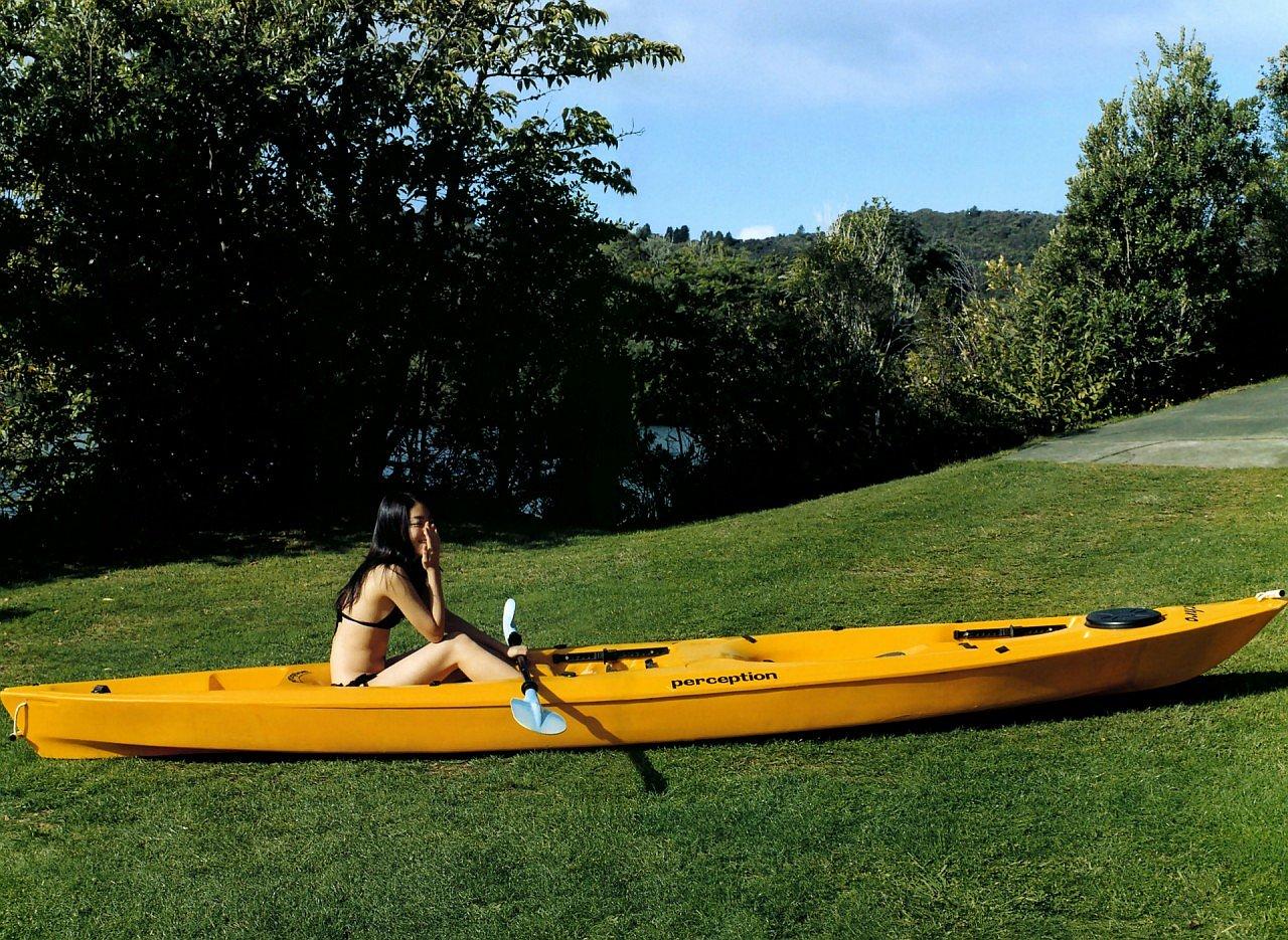 成海璃子のボート
