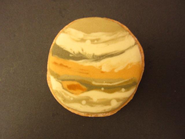 アイシングクッキー:木星