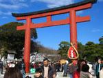 新年の鶴岡八幡宮 - 其の一