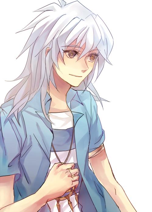 Anime Guy With White Hair Tumblr