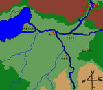 オルゴナ大平原南部