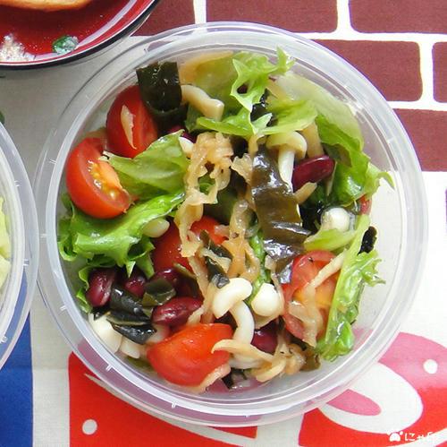 乾物サラダ