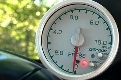 純正オイル油圧