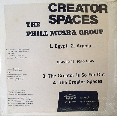 Phill Musra Group Creator Spaces