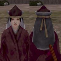 角帽子(黒)