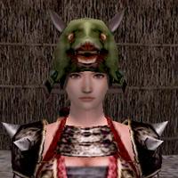 山狩人の冠(緑)