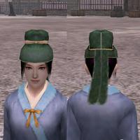 常世の額巻(緑)