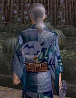 涼団扇飾り・青(男)