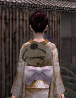 涼団扇飾り・豪華(女)