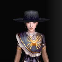 絹の南蛮帽子(ノーマル)