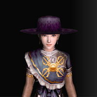 絹の南蛮帽子(黒)