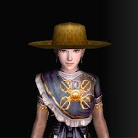 絹の南蛮帽子(金)