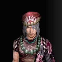 三角木綿帽(男:赤)