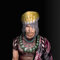 三角木綿帽(男:金)