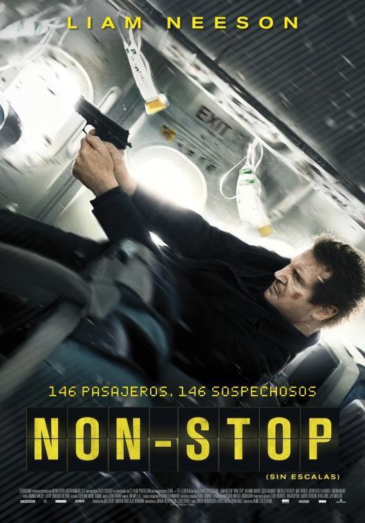 リーアム・ニーソンの「フライト・ゲーム(NON-STOP)」
