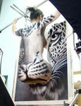 だましアート:虎