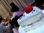 ケーキに夢中