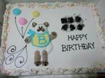 特大ケーキ。