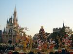 クリスマスのディズニーたち