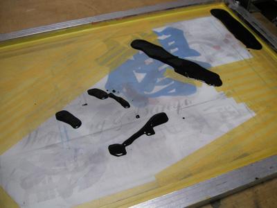 浸み込む顔料インク