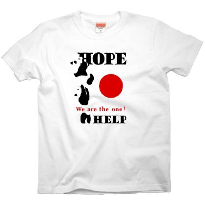"""チャリティーTシャツ「HOPE」(通称""""パンダ"""")"""