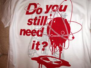 反原発 Tシャツ