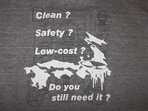 脱原発 Tシャツ