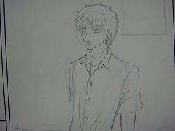 どうしたら、かっちょいい男の子が描けるんだろう・・・謎。