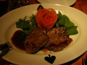 すげーやわらかい肉。