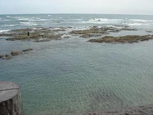 海の写真,磯,潮,旦那とツーリング,タンデム