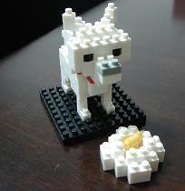 ナノブロック,nanoblock,北海道犬,お父さん,クリスマスプレゼント,誕生日プレゼント,大人のブロック,大人のおもちゃ