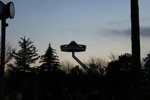 なばなの里,冬のイルミネーション,サンランド富士,写真,三重県観光スポット,UFO,なばなの里のUFO,富士山,イルミネーションDVD