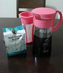 タリーズコーヒー,ららぽーと磐田,水出しコーヒーポット,アイスコーヒー,水だし,アイスコーヒーブレンド,ice coffee blend,tully's,簡単,おいしい,水出しコーヒーの淹れ方,通販,販売,購入,おすすめ