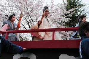 静岡まつり,静岡祭り,にしきのあきら,桜,花見,駿府城,デジタル一眼レフ,撮影,カメラ