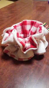 手作りシュシュ,作り方,ハンドメイド,手縫い,手作りレシピ,ミシン,ダブルガーゼ