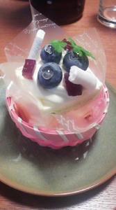 誕生日ケーキ,バースデーケーキ,妊婦,妊娠36週目,マタニティ