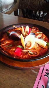 スペイン料理,結婚記念日,パエリア,おすすめ,夫婦で食事,イカスミ料理
