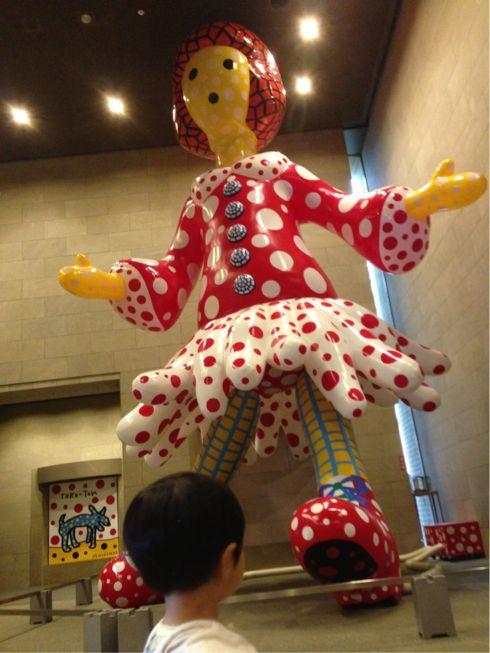 草間彌生,展覧会,くさまやよい,クサマヤヨイ,ヤヨイちゃん,県立美術館