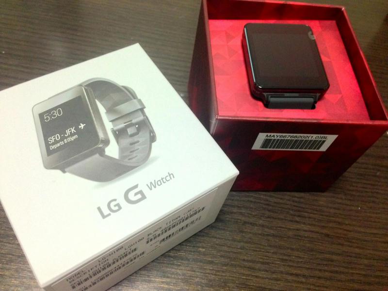 LG G Watch、スマートウォッチを一週間くらい使ってみた