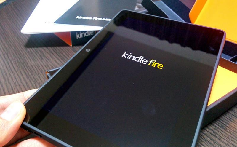 タブレット Kindle fire HDX7 を手に入れたので開封の儀