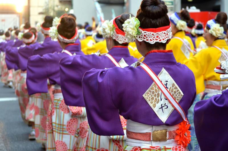 2015年よさこい祭り最終日の様子