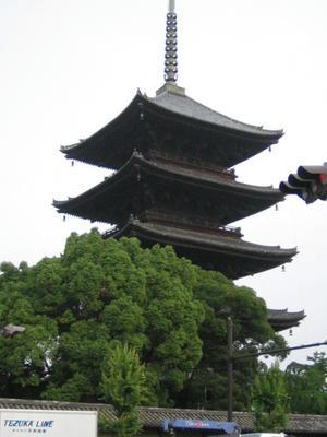 京都・東寺五重塔