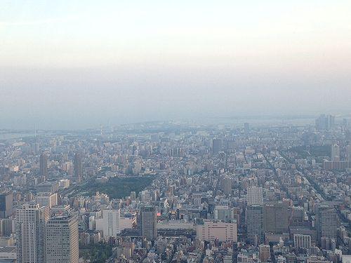東京スカイツリー展望台かえらの眺望