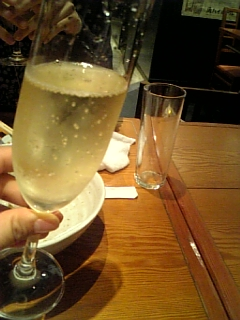 シャンパン☆