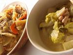 【トン汁素麺と白菜のミルク煮】