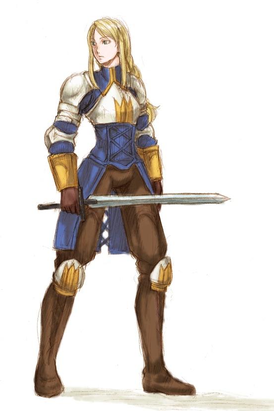 アグリアス・オークスはホーリーナイトより ナイトに聖剣技つけたほうが強い(ぁ